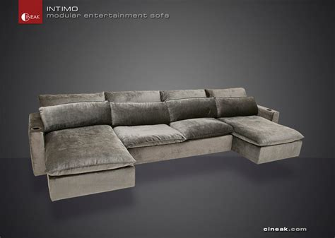 cineak intimo modular entertainment sofa modern