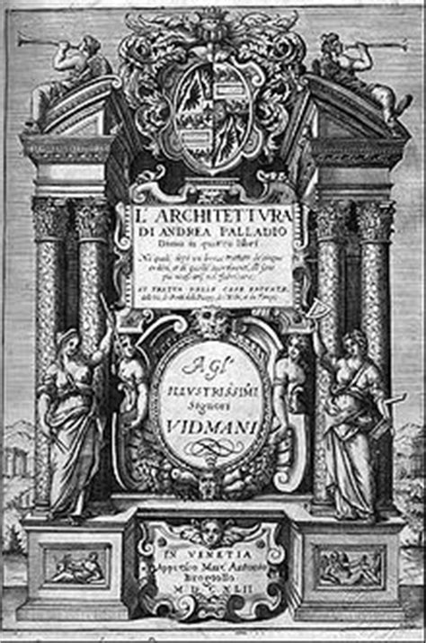 libro palladio i quattro libri dell architettura wikipedia