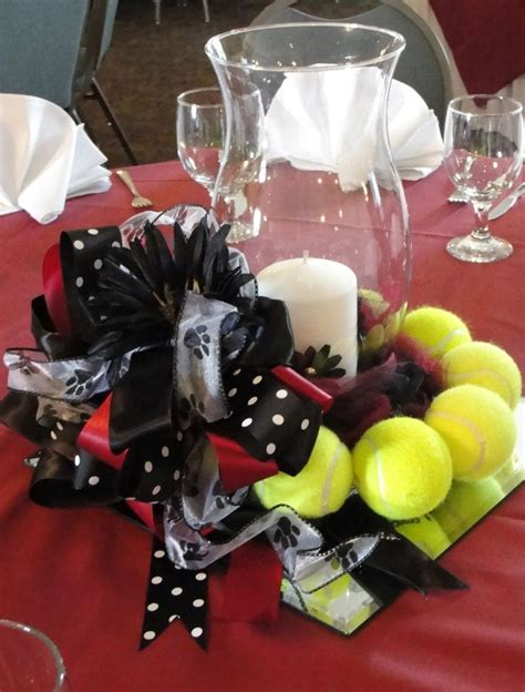 banquet table centerpieces cheerleading banquet table decorations photograph tennis c