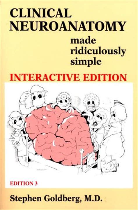 Cd E Book Basic Clinical Neuroscience 3e neurology books clinical neuroanatomy made ridiculously simple 3rd edition book cd rom