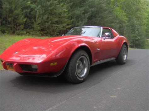 Sell Used 1975 Chevrolet Corvette Stingray Coupe T Tops Restored In Elkhart Indiana United Sell Used 1975 Corvette T Top Stingray In Blairsville United States
