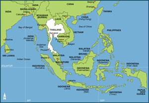 east south asia map southeast asia map political