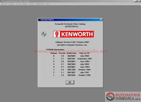 kenworth spare parts kenworth spare part catalog 2004 auto repair manual