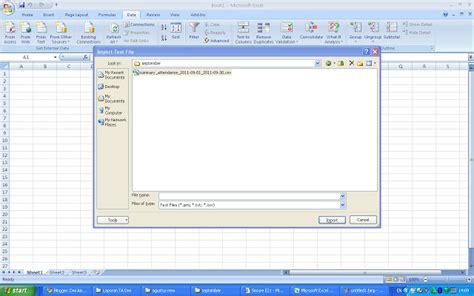 cara mengubah format csv ke excel cara convert dari file excel ke csv seputar it