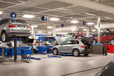 Bmw Service Center by Bmw Of Sterling Service Center Turner Construction Company
