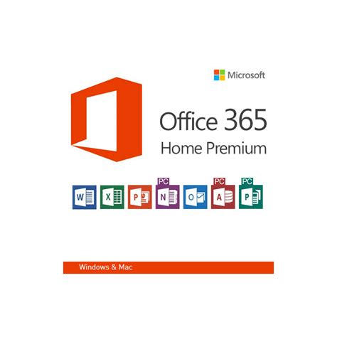 microsoft office 365 home premium 32 64 bit 5pcs macs 1