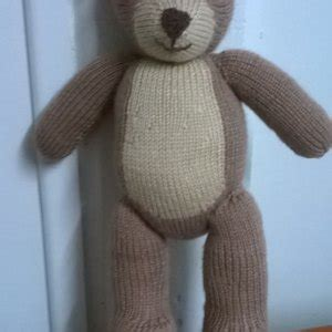 bear knit a teddy knitting pattern by knitables bear knit a teddy knitting pattern by knitables