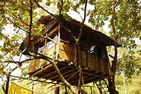 Tree huts 171 kaama kethna your yoga resort in south goa