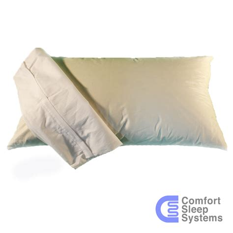 50 50 Feather Down Pillow Comfort Sleep Systems