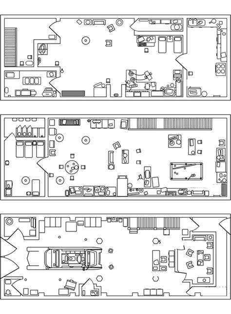 Minecraft Building Floor Plans 74 Brick Long Ghostbusters Firehouse And New Ecto 1 Lego