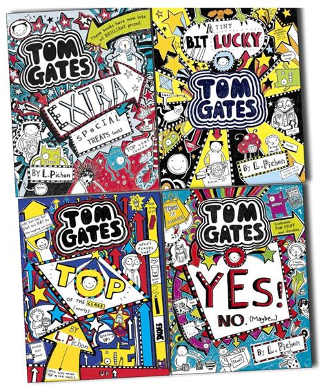 140714880x tom gates top of tom gates 4 books collection pack set book 6 7 8 9 top