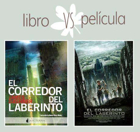 libro el corredor del laberinto el corredor del laberinto libro vs pel 237 cula paperblog
