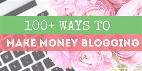 Ways To Make Money Online Reddit - 100 ways to make money blogging mom resource