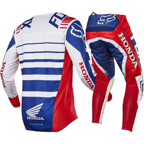 new jersey motocross fox racing 2017 mx new 180 honda red white blue jersey