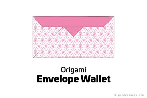 How To Make A Origami Wallet - make an easy origami envelope wallet