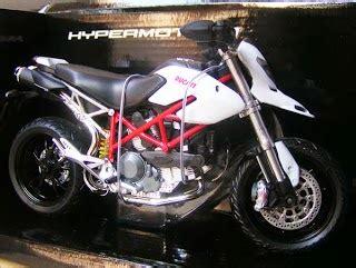 Miniatur Honda Ducati Die Cast diecast miniatur motogp replika motor mobil vespa
