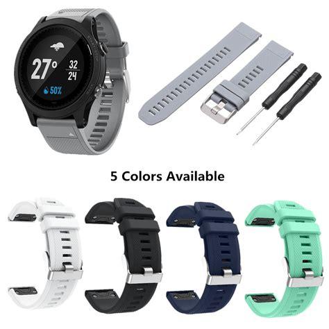 Smartwatch Garmin Fenix 5s Bracelet Silicon Rubber Wrist Band replacement silicone release wristband watchband band for garmin fenix 5s alex nld