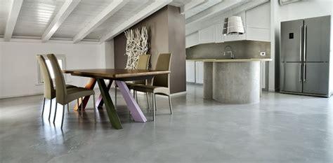 pavimento mansarda microcemento per una mansarda pavimentarte