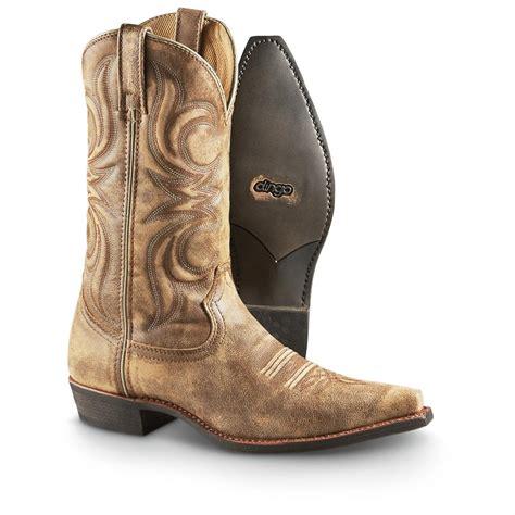 dingo cowboy boots for s dingo 174 wyldwood western boots 579527 cowboy