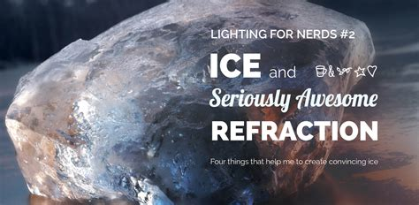 blender tutorial ice create realistic ice and awesome refraction in blender