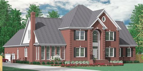southern heritage home designs house plan 4258 e the