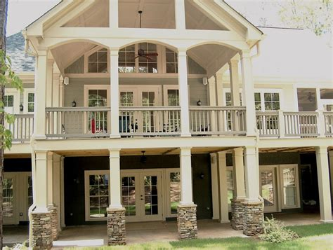 simple covered deck house inspiration pinterest the covered deck no arches though simple and clean flw