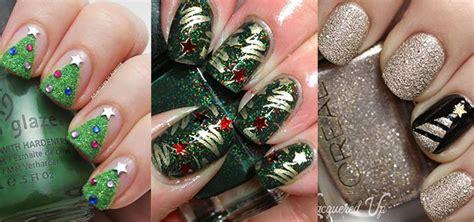 christmas pattern nail st 18 christmas tree nail art designs ideas 2016 xmas