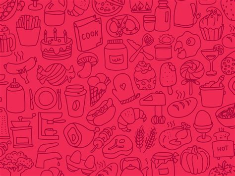 background pattern javascript hand doodle food icons pattern by ramy wafaa dribbble