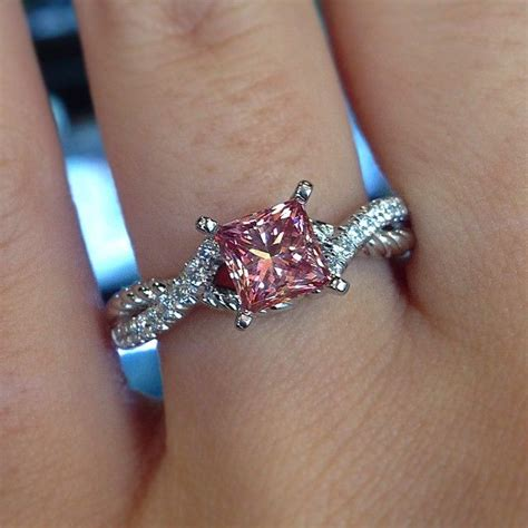 pink ring best 10 pink diamonds ideas on pink