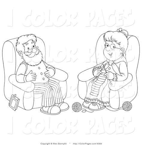 coloring pages for elderly an elderly colouring pages