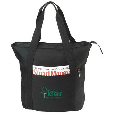 Eco Friendly Um Tote It Or It by Customized Eco Friendly Recycled Zippered Tote Bag