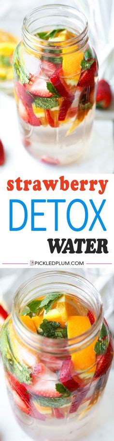 Strawberry Detox by 1000 Ideas About Strawberry Detox Water On