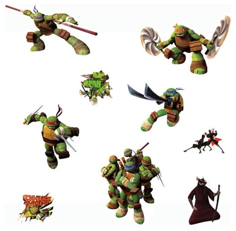 turtle wall stickers mutant turtles wall stickers tmnt decals