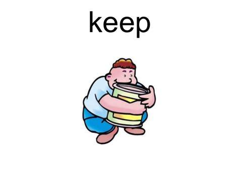 imagenes de keep en ingles irregular verbs