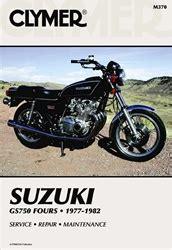 Suzuki Gs 750 Manual 1977 1982 Clymer Service Amp Repair