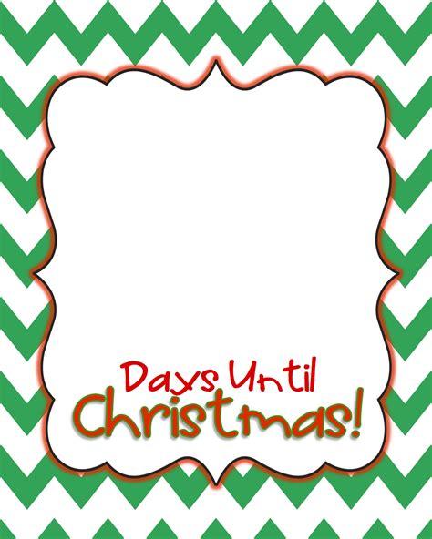 how many days until christmas 2016 2017 calendar template