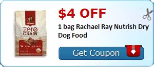 printable rachael ray dog food coupons printable rachael ray nutrish dog food coupons 2015