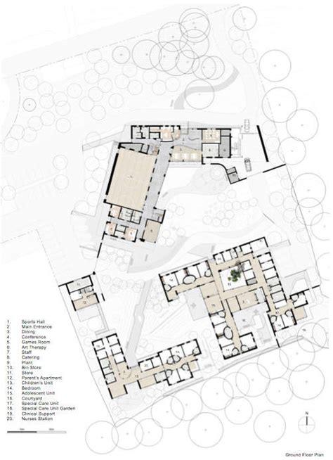 mental hospital floor plan merlin park hospital mob archdaily