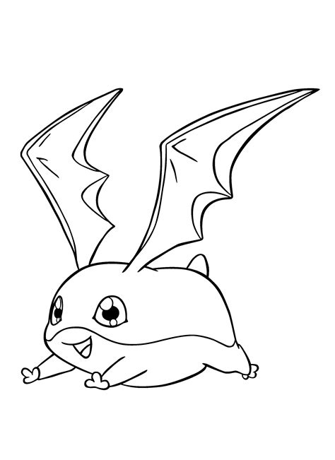 Coloring Page Digimon Coloring Pages 184 Digimon Coloring Pages