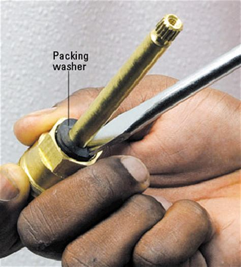Faucet Stem Packing by Tub And Shower Stem Compression Faucet Repair And