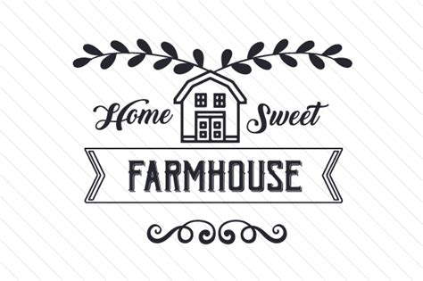 House Plans Farmhouse Country home sweet farmhouse creative fabrica