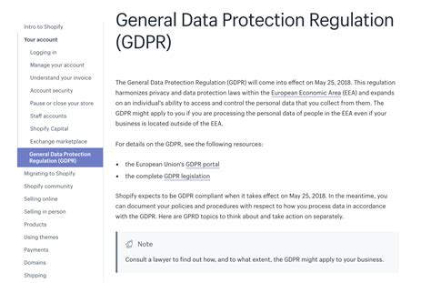 Gdpr For Ecommerce What Store Owners Can Do Video Included Free Gdpr Compliant Privacy Policy Template