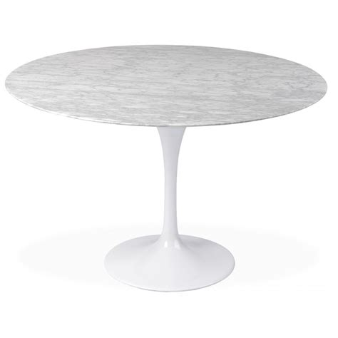 Marble Tulip Dining Table Tulip Marble Table 90cm The Furniture Company Ltd