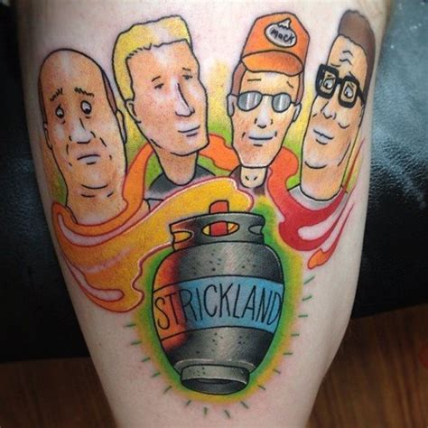 14 seriously quot hwat the f ck quot king of the hill tattoos