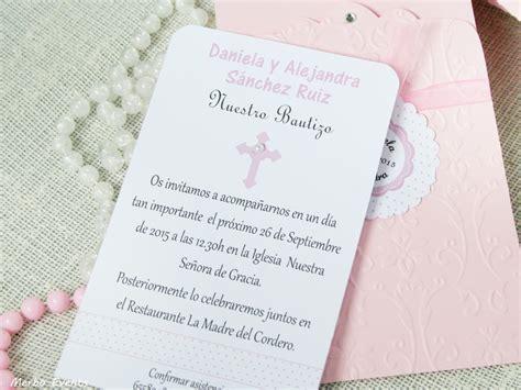 invitaci n de bautizo de ni a para imprimir tarjetas fiestas y invitaci 243 n flores merbo events