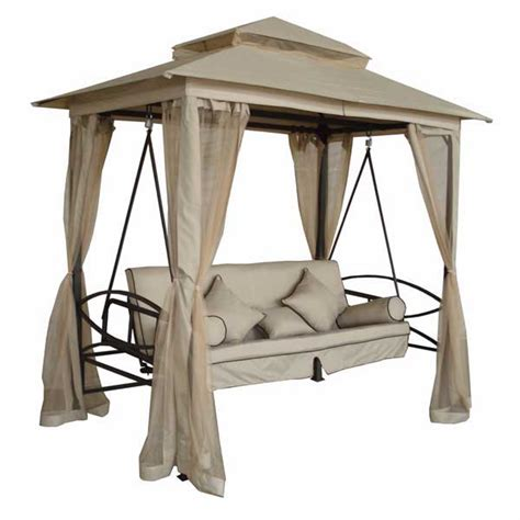 swing ls bedside greenfingers regency 3 seater swing seat natural on sale