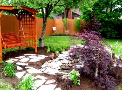 landscaping ideas for backyard on a budget outdoor concrete deck with pit for inexpensive