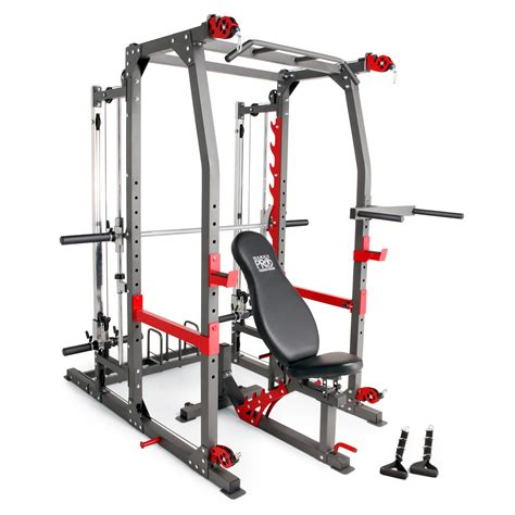 weight bench machine marcy pro smith machine weight bench home gym total body workout training system ebay