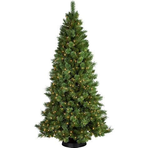holiday time pre lit 2 noble fir artificial christmas