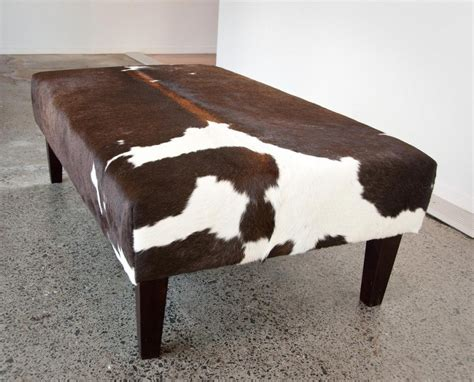cow skin ottoman functionality fantasy brown granite the wooden houses